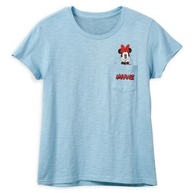 Disney Minnie Mouse Pocket T-Shirt for Women