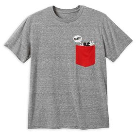 Disney Mickey Mouse Pocket T-Shirt for Men