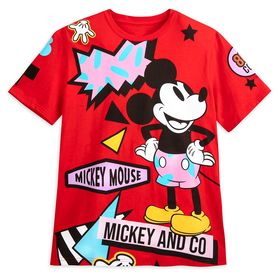 Disney Mickey Mouse Retro Graphic T-Shirt for Adul