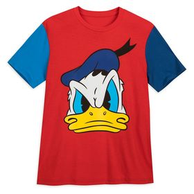Disney Donald Duck Color Block T-Shirt for Adults