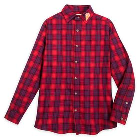 Disney Ian Flannel Shirt for Adults by Cakeworthy