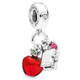 Disney Snow White Apple and Heart Box Charm by Pan