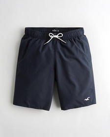 "Hollister Guard Swim Trunk 9"", NAVY"