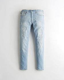 Hollister Super Skinny Jeans, RIPPED AND REPAIRED