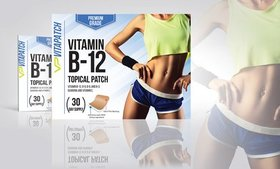 VitaPatch Vitamin B-12 and Guarana Slimming Patche