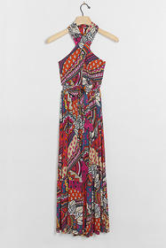 Anthropologie Cynthia Halter Maxi Dress