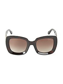 Roberto Cavalli 53MM Embellished Square Sunglasses