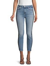7 For All Mankind Luxe Vintage High-Rise Leopard T
