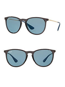 Ray-Ban RB4171 54MM Erika Round Sunglasses TRANSPA