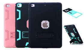 Shockproof Heavy Duty Case with Kickstand for iPad