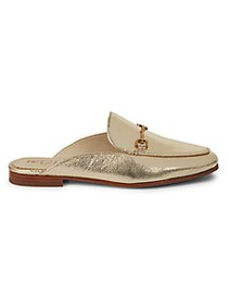 Sam Edelman Linnie Metallic Leather Loafers