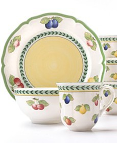 French Garden 12-Pc. Set Service for 4