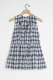 Anthropologie Neve Tiered Blouse