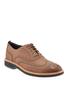 Cole Haan Men's Morris Mixed Leather Wing-Tip Oxfo