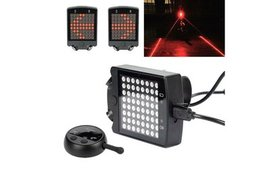 Wireless Remote Control Bicycle LED Tail Light ste