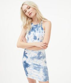 Aeropostale Seriously Soft Tie-Dye Bodycon Dress