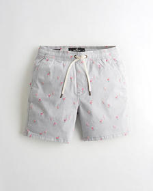 "Hollister Hollister Epic Flex Jogger Short 7"", LIG"
