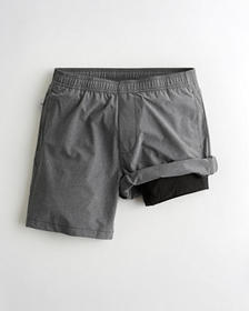 "Hollister Lined Hollister Everyday Short 7"", HEATH"