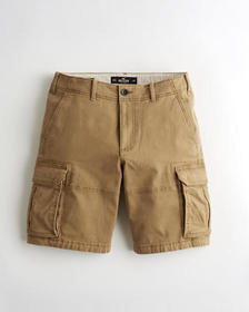 "Hollister Hollister Epic Flex Cargo Short 10"", KHA"