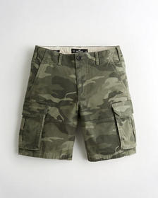 "Hollister Hollister Epic Flex Cargo Short 10"", CAM"