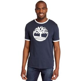 Timberland Men's Tree Logo Ringer T-Shirt