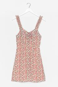 Nasty Gal Pink You Grow What to Do Floral Mini Dre