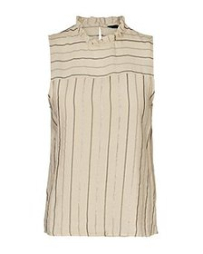 Vero Moda - Ovida Metallic Stripe Top