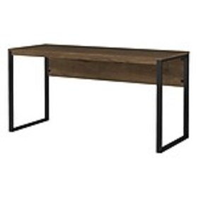 Bush Furniture Latitude 60W Writing Desk, Rustic B