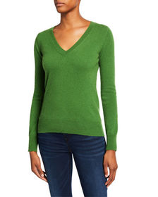 Neiman Marcus Cashmere Collection Basic Cashmere V