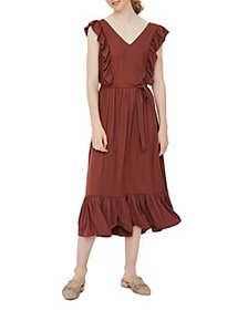 Vero Moda - Ruffled Tie Waist Dress