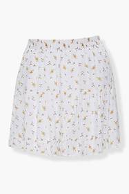 Forever21 Plus Size Floral Print Mini Skirt