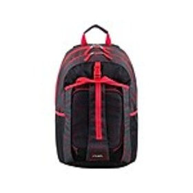 FUEL Deluxe Combo Set Backpack, Geometric, Black/R