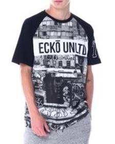 Ecko city scapes ss knit tee