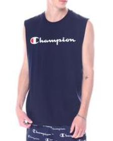 Champion classic script logo muscle tee