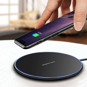 Wireless Charger, Qi Certified Fast Wireless Charg