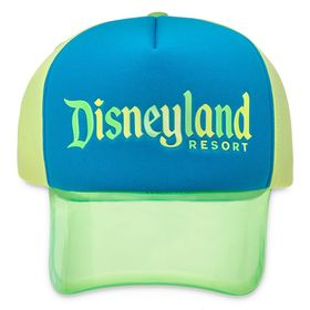 Disney Disneyland Neon Visor Baseball Cap for Adul