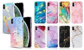 Graphic Marble Design Case for iPhone 7 or 8, 7 /
