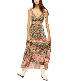 Free People Let's Smock About It Maxi