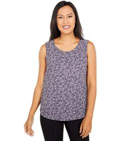 Anne Klein Nantucket Top Dot Shell with Darts