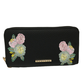Womens Rampage Floral Embroidered Wallet