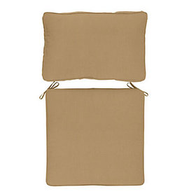 Replacement Seat and Back Cushion Set Box Edge - S