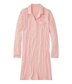 LL Bean Women's Super-Soft Shrink-Free Nightgown,