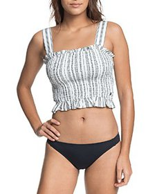 Roxy - Volcanic Love Striped Crop Top