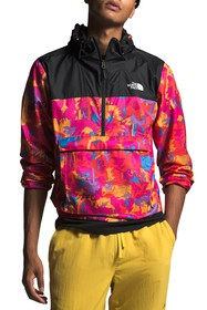 The North Face Abstract Colorblock Fanorack Hoodie