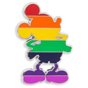 Disney Mickey Mouse Rainbow Standing Pin