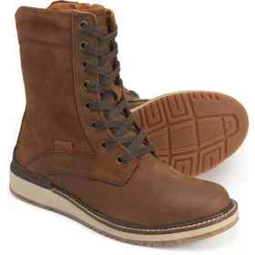 Keen Bailey Lace Boots - Leather (For Women) in Mu