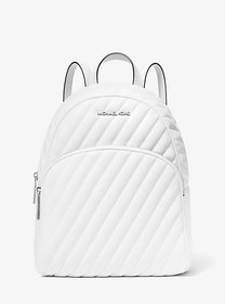 Michael Kors Abbey Medium Quilted Leather Backpack