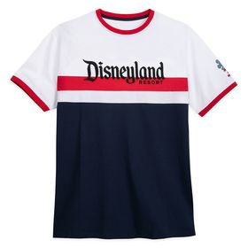 Disney Disneyland Americana Ringer T-Shirt for Adu