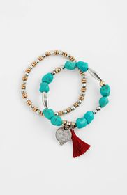 Turquoise Skies Stretch Bracelet