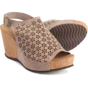 A. GIANNETTI Made in Italy Wedge Sandals - Leather